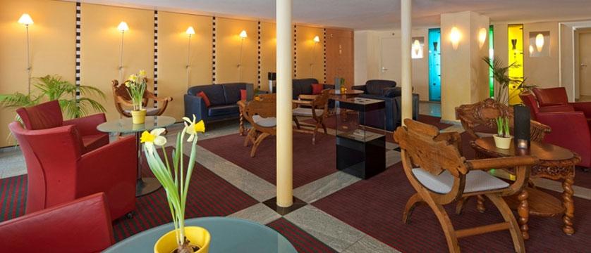 Hotel Allalin, Saas-Fee, Switzerland - hotel lobby.jpg